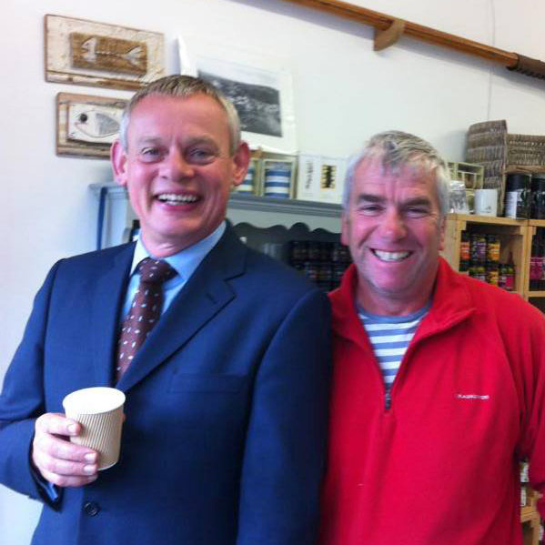 martin clunes doc martin john brown fishermans friends tour guide